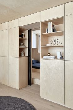 Itinerant Richmond: Micro Apartment Renovation in Melbourne - Home & DIY Japanese Apartment, Micro Apartment, Design Apartment, Apartment Renovation, Studio Apartment, Small Apartment Storage, Small Apartment Interior, Contemporary Apartment, Apartment Ideas
