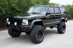 1988 Jeep Cherokee Chief Houston, Texas | Hansen Custom Trucks Inc