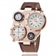 Men'S Watch Multifunctional Compass Trendy Watch Accessory