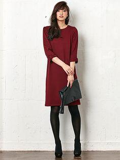 リボンスリーブジャージーワンピース | レディースファッション通販サイトFABIA(ファビア)