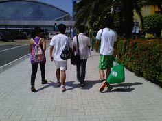 Strolling around MOA with friends Friends, Coat, Jackets, Fashion, Down Jackets, Moda, Amigos, Boyfriends, Fasion