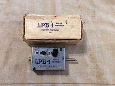 Vintage Electro Harmonix Linear Power Booster LPb 1