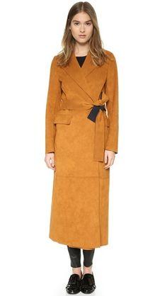 MSGM Пальто с длинными завязками