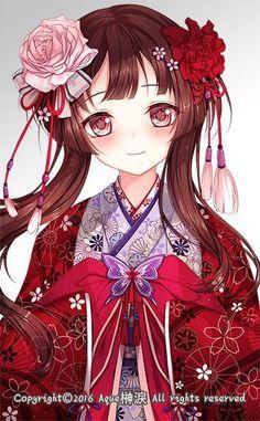 Anime Chibi, Art Manga, Chica Anime Manga, Anime Oc, Pretty Anime Girl, Beautiful Anime Girl, Kawaii Anime Girl, Anime Art Girl, Anime Girls