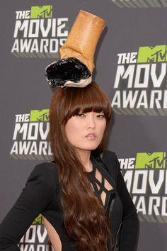 Hana Mae Lee at event of 2013 MTV Movie Awards