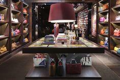 So elegant. The interior of the new 1,700 sq. ft. CH Carolina Herrera store in Bal Harbour Shops, FL.