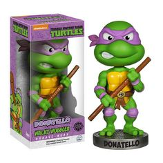 Not Just Toyz - Teenage Mutant Ninja Turtles Donatello Bobble Head, $12.99 (http://www.notjusttoyz.com/teenage-mutant-ninja-turtles-donatello-bobble-head/)