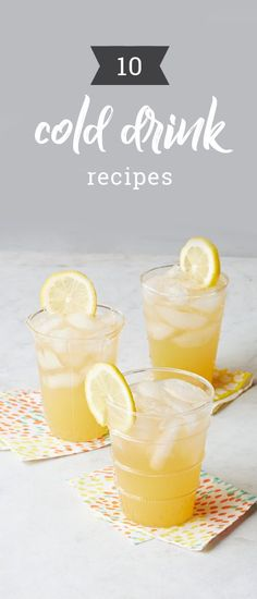 10 Cold Drink Recipes – Treat your brunch or summer picnic guests to scrumptious beverages! Our collection of cold drinks include tasty recipes for cocktails, mocktails, smoothies, lemonade, iced tea, and more. Whether you like sweet or tangy these recipes, we have a variety of flavors for you and your family.