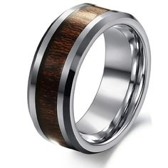 Cheap ring for, Buy Quality rings for men directly from China fashion rings Suppliers: BFQ fashion 2017 vintage wood rings for men stainless steel rings wedding rings men jewelry anel masculino bague anillos aneis Ring Ring, Promise Rings For Guys, Rings For Men, Tree Of Life Ring, Finger, Viking Jewelry, Wood Rings, Steel Jewelry, Stainless Steel Rings
