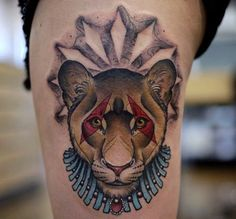 """30 Powerful Lioness Tattoo Ideas - Tattoo of the lioness is more common for females. It is explained by a desire to show own femininity. The woman thinks: """"I'm a mother (or future mother). So what kind of tattoo will be …"""