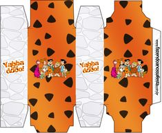 Caixa Sabonete Os Flintstones: