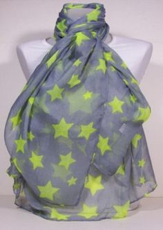 Starry Neon scarves