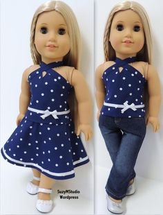 American Girl doll clothes sewing patterns by SuzyMStudio wordpress