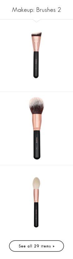 """Makeup: Brushes 2"" by katiasitems on Polyvore featuring beauty products, makeup, makeup tools, makeup brushes, brushes, makeup powder brush, powder brush, face makeup, face powder and morphe makeup brushes"