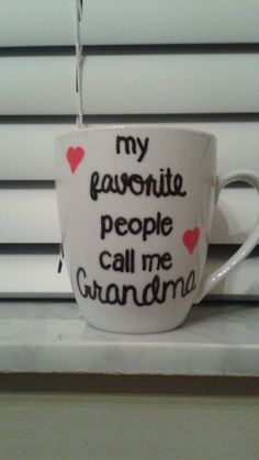 My Favorite People Call Me - Personalized Coffee mug – Hucklett's Creations