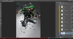Flux Photoshop Action | GraphicRiver