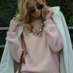 White on White (Zorannah's Fashion Corner) Fashion Corner, Personal Taste, Sweater Weather, Sweaters, January, Style, Swag, Sweater, Outfits