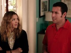 The Comedic Dan Perrault nails his interview with Adam Sandler & Drew Barrymore on #Fandango. Would Adam & Drew's baby really look like a bald Casey Affleck?