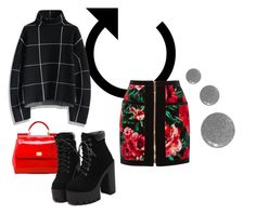 """Walk to me"" by thenuprof on Polyvore featuring Dolce&Gabbana, Balmain, Chicwish and Topshop"