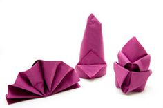 There are many techniques for folding paper napkin and you can create a beautiful table setting with it. In this article we are going to discuss how you can create beautiful napkin folds at home.