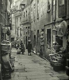 Calle de los Cestos, años 50.