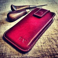 Custom case for iPhone #case #iphone #leather #luxury #custom #present #custom #bespoke #simaprague #czech #pargue
