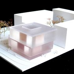 Maquette Architecture, Architecture Model Making, Concept Architecture, Architecture Drawings, School Architecture, Architecture Design, Urbane Analyse, Arch Model, Farmhouse Christmas Decor