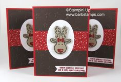 Cookie Cutter Christmas Reindeer - Barbstamps!! Barb Mullikin Stampin' Up…