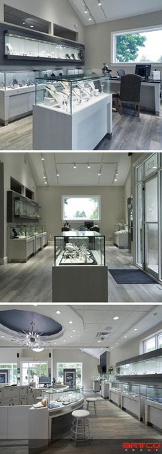 "Take a look at our latest Retail Design Project for Van Scoy Jewelers.  Manufacture & Design of Store Fixtures by Artco Group.  ""The only way to do great work is to love what you do"" Jewelry Store Design, Jewelry Shop, Jewelry Stores, Jewellery, Store Fixtures, Retail Design, Design Projects, Van, Jewels"