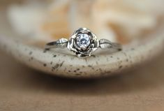 Unique Rings, Beautiful Rings, Engagement Ring Settings, Engagement Rings, Bijoux Or Rose, Commitment Rings, Promise Rings For Couples, Argent Sterling, Sterling Silver