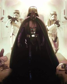 Dark Lord of the Sith - art by Brian Rood Star Trek, Vader Star Wars, Darth Vader, Sith, Star Wars Episode 2, Star Wars Design, Star Wars Pictures, Star Wars Tattoo, Star Wars Wallpaper