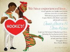 8 beautiful African wedding invitations by Bibi Invitations. Featuring drawings representing countries such as Nigeria, South Africa, Ghana and more. Discount Wedding Invitations, Digital Invitations, Wedding Invitation Design, Invitations Online, Invites, Ethiopian Wedding, African Theme, African Attire, African Traditional Wedding