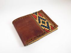 Handmade leather wallet by ARTEmasCUEROS on Etsy, $30.00
