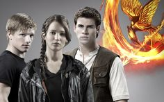 Hunger Games Katniss | New Picture of Katniss, Peeta and Gale