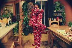 matching pijamas