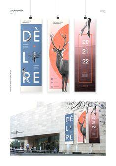 DELIRÈ | Festival de Cine Surrealista on Behance