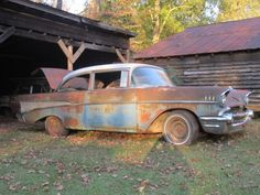 Lookin for love in all the wrong places, Rusty Icon: 1957 Chevrolet Bel Air