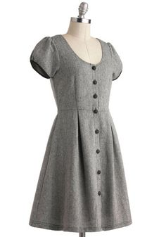 Tell Me a Tailored Dress, #ModCloth