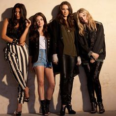 Shay, Lucy, Troian and Ashley