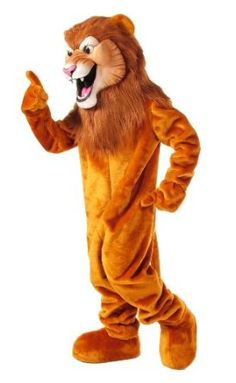 Amazon.com: Lion Mascot Costume: Clothing