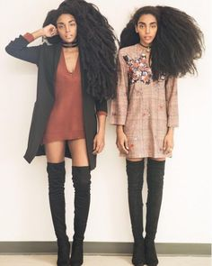 71 Unique Afro Hairstyle Inspiration for Women - Fashionetter Black Girl Magic, Black Girls, Black Women, 4c Hair, Quann Sisters, Cipriana Quann, Curly Hair Styles, Natural Hair Styles, Natural Hair Inspiration