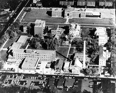 Do you remember all the buildings on the National Jewish Health Campus during the 60s? Some of them are gone now and some are replaced, but the campus has been at the same location since 1899! #TBT