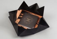 Creative Baker, Chirico, Design, Graphique, and Packaging image ideas & inspiration on Designspiration Web Design Blog, Cd Packaging, Design Packaging, Pretty Packaging, Innovative Packaging, Folders, Creative Brochure, Creative Package, Brochure Design Inspiration