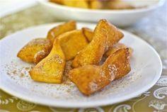 Galletas fritas a la canela (Thermomix)