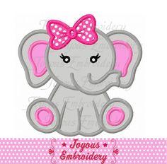 Descarga inmediata elefantito para niñas por JoyousEmbroidery
