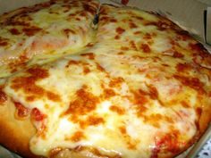 National Cheese Pizza Day - September This is kismet. This is my birthday Favourite Pizza, My Favorite Food, Favorite Recipes, Greek Recipes, Vegan Recipes, Cookbook Recipes, Cooking Recipes, National Cheese Pizza Day, Gastronomia