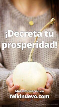 En el artículo de hoy podrás escuchar una nueva lista de afirmaciones y decretos para generar abundancia, prosperidad y riqueza. Encuéntralas en: http://www.reikinuevo.com/decreta-tu-prosperidad/