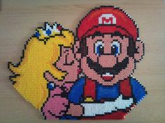 True Love : Mario and Peach [ My First Large Project ! I'm so happy how it turned out ! ]