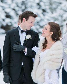 Winter Wedding Fur, Winter Wedding Bridesmaids, Winter Bride, Winter Wonderland Wedding, Brides And Bridesmaids, Winter Weddings, Christmas Wedding, Vintage Fur, Vintage Bridal