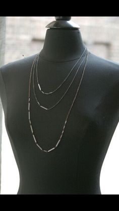 Morse Code necklace from @shopnash on etsy... Love this and great gift idea to send a message